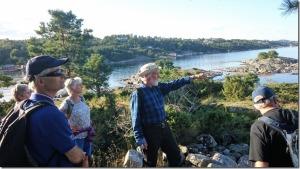 Ivar Jansen er turleder på Herøya