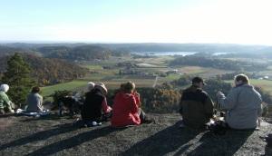 Tur til Klamreheia høsten 2012